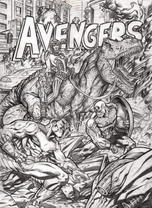 1-AVENGERS VS KANG'S DAUGHTER COVER web