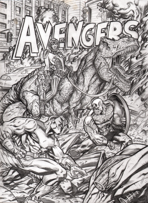 1-AVENGERS VS KANG'S DAUGHTER COVER web