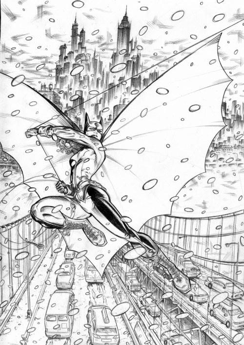 Batgirl page 1