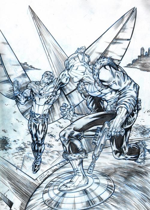 Captain Amerca vs Zemo
