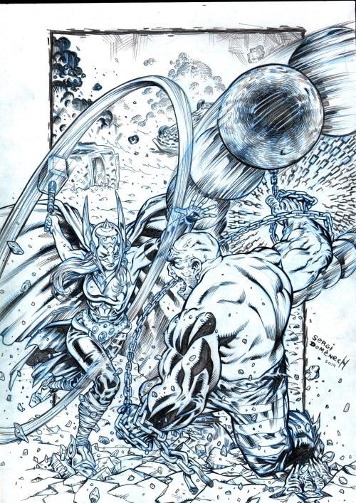 Thor vs Absorb man copy