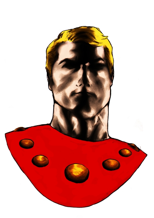 Flash Gordon icon overlay