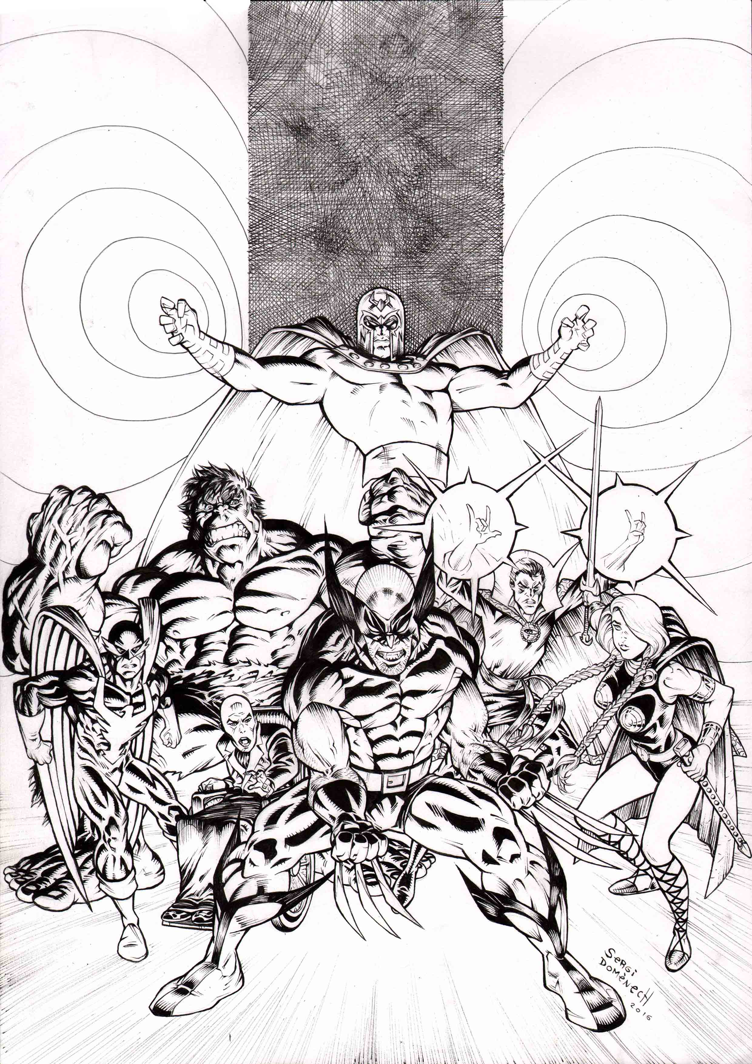 Cover Wolverine ink