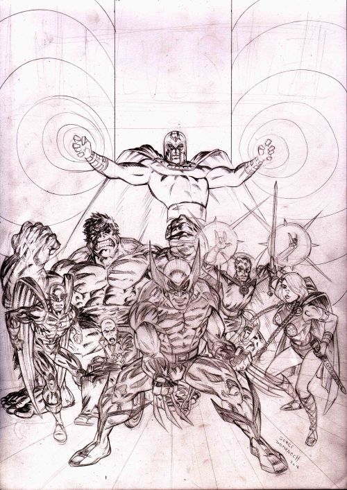 Cover Wolverine Sketch