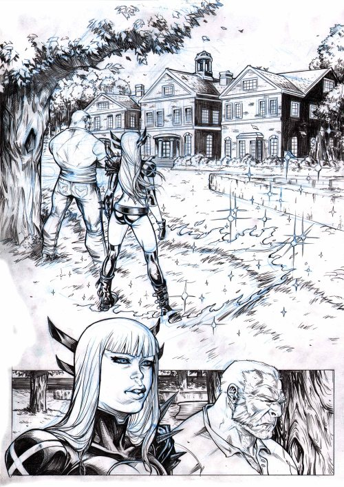 Xmen and the New Mutants  PAGE 1