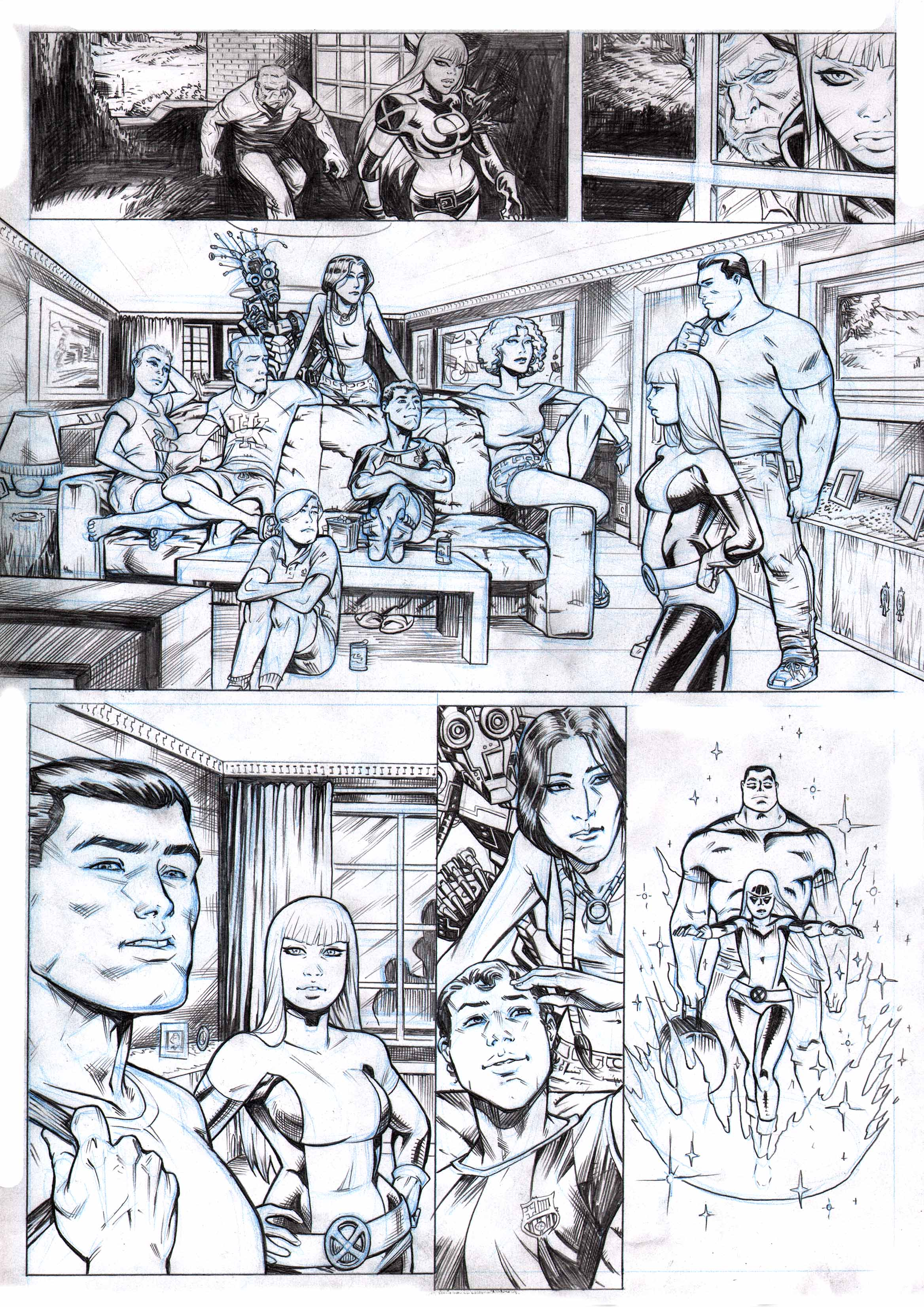 Xmen and the New Mutants  PAGE 2