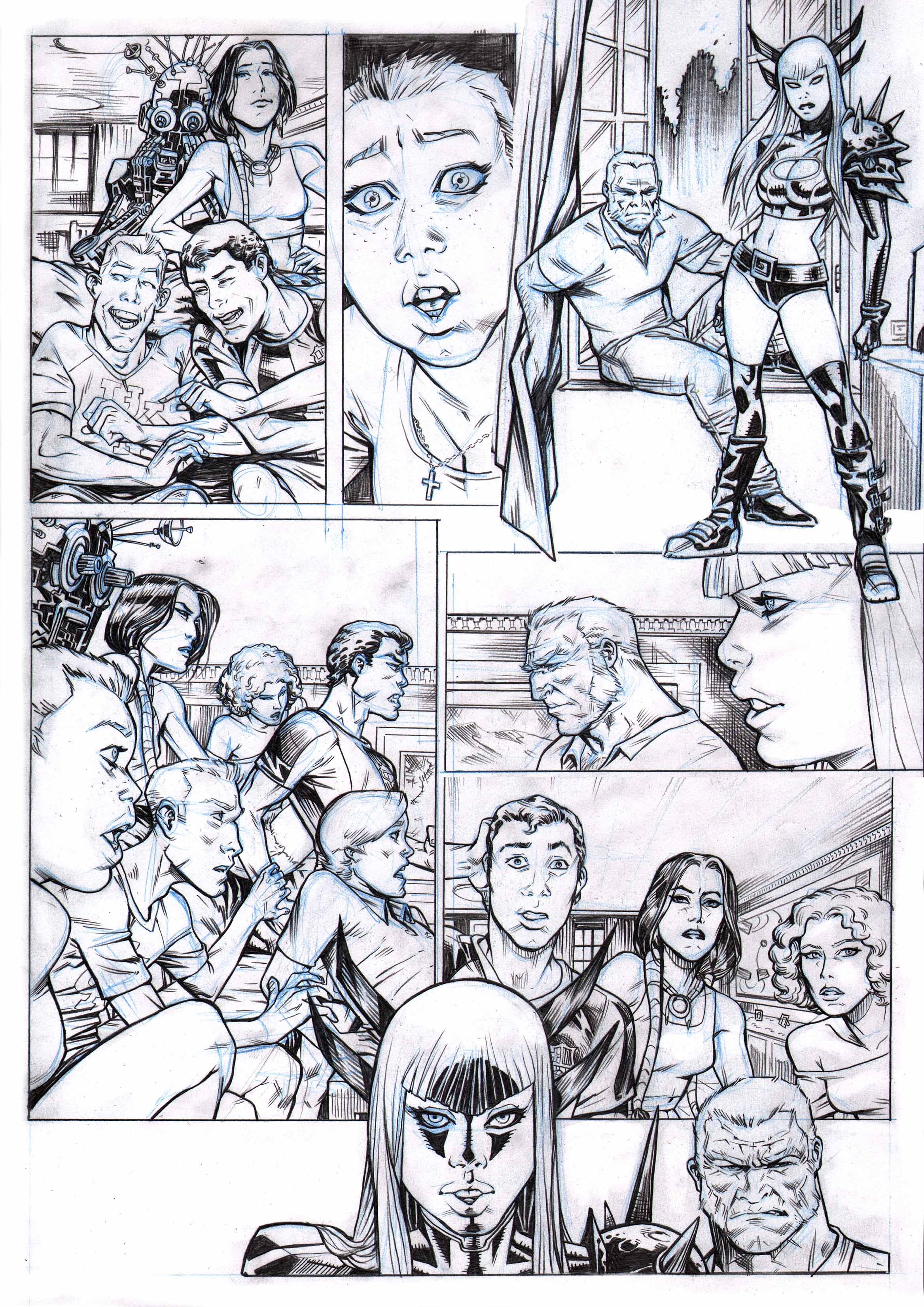 Xmen and the New Mutants  PAGE 3