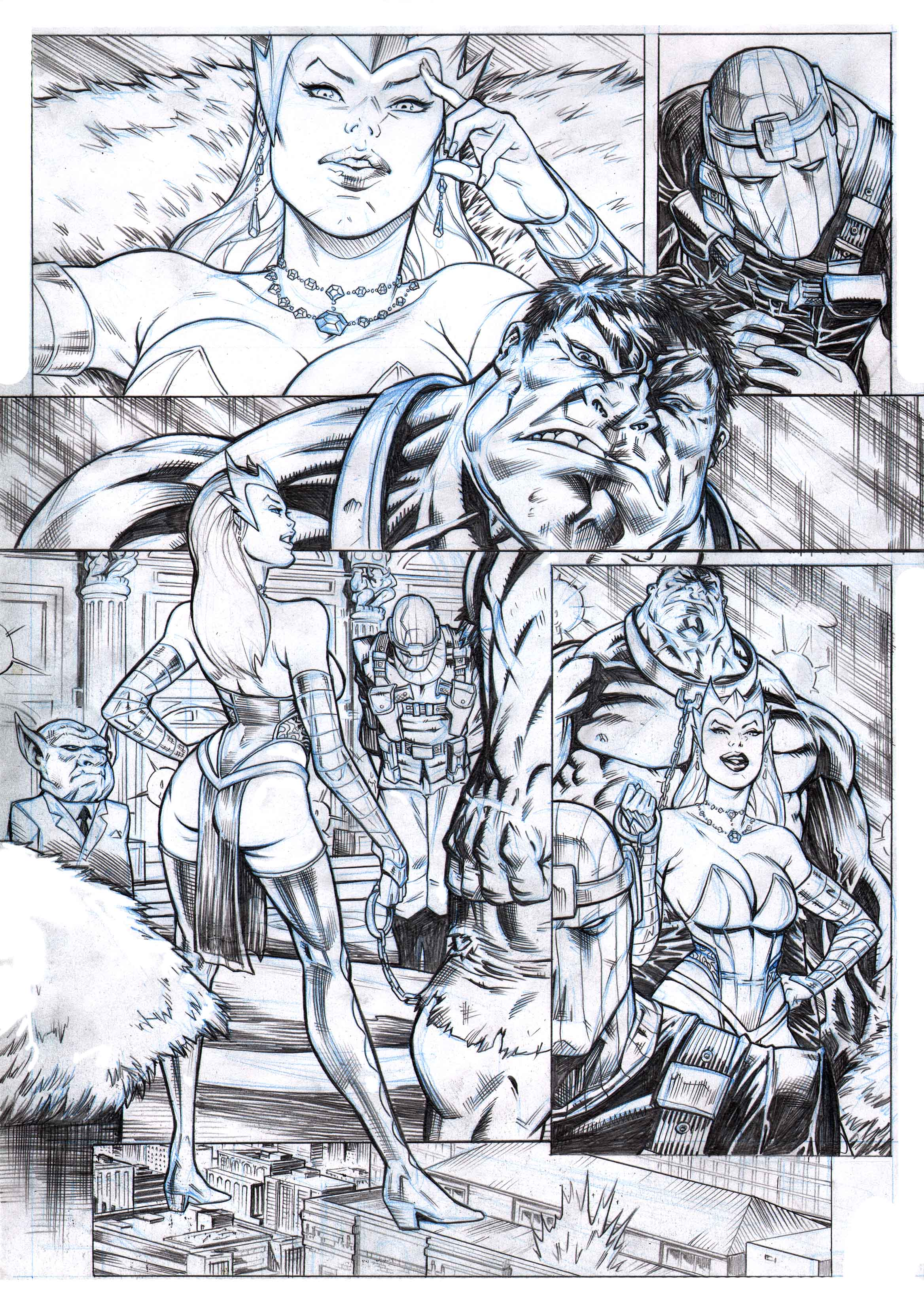 Xmen and the New Mutants  PAGE 5