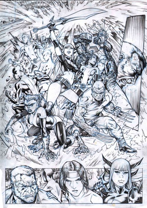 Xmen and the New Mutants  PAGE 6